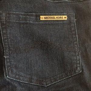 Size 2 Michael Kors Dark Wash Skinny Jeans
